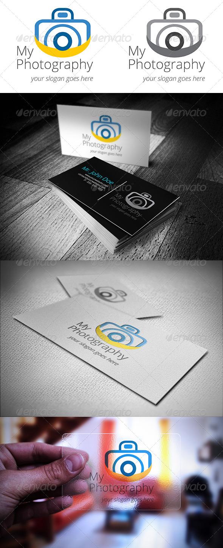 GraphicRiver Photography Logo 4809323