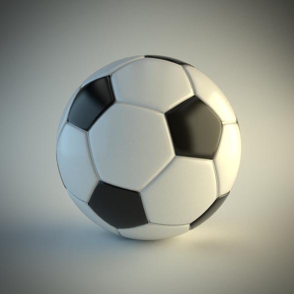 3DOcean Soccer Ball 4822127
