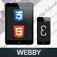 Webby | Mobile & Tablet Responsive Template - ThemeForest Item for Sale