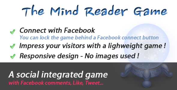 Mind Reader Social Game - CodeCanyon Item for Sale