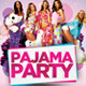Pajama Party Flyer - GraphicRiver Item for Sale