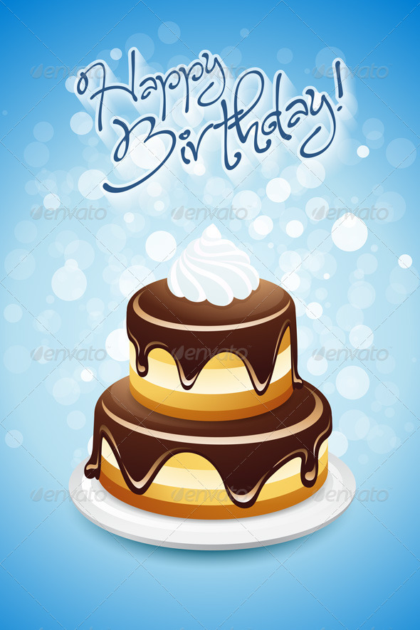 GraphicRiver Happy Birthday Card 4827966