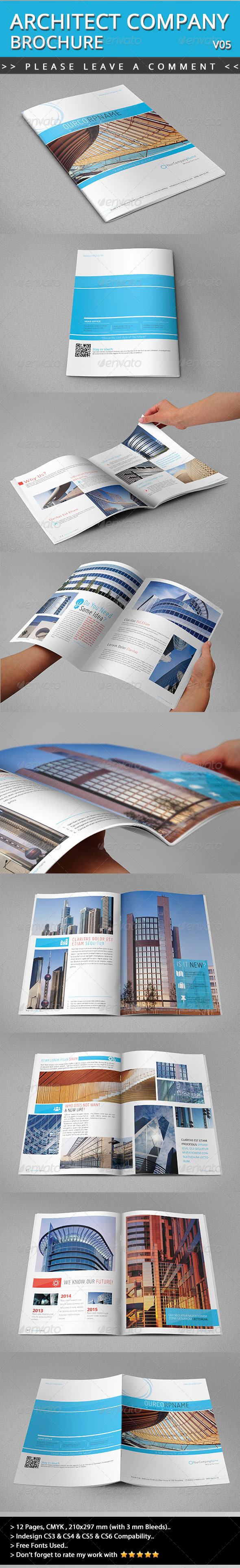 GraphicRiver Architect Brochure V05 4829851