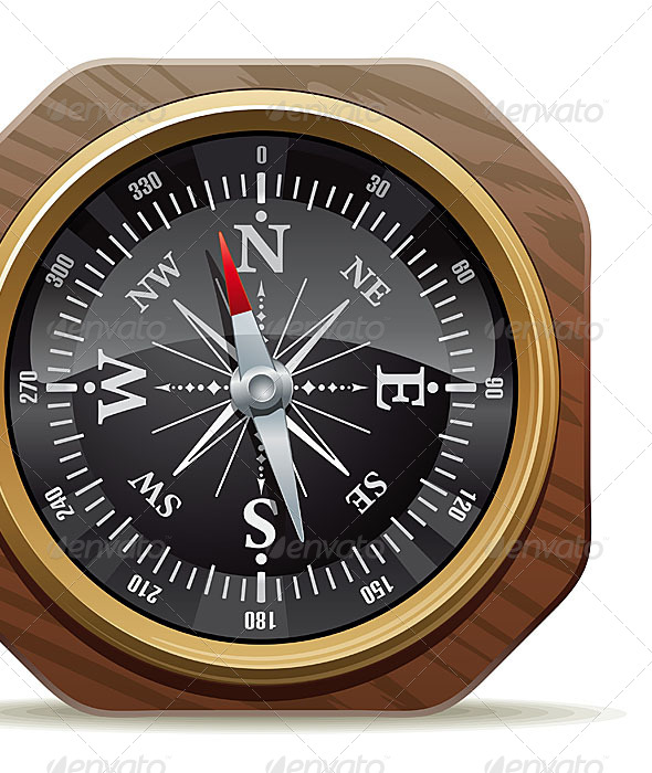 GraphicRiver Old Compass 4819718