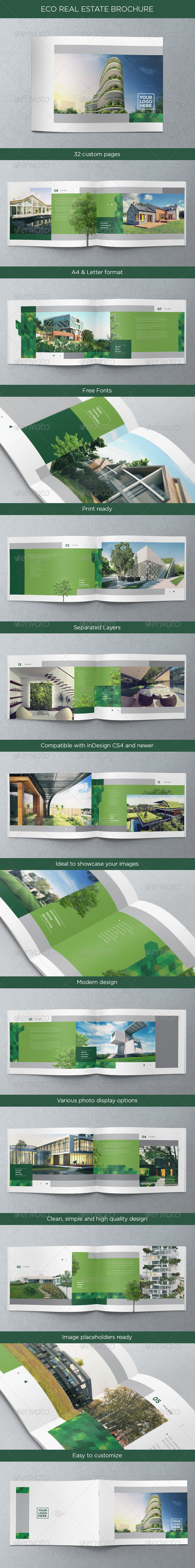 GraphicRiver Eco Real Estate Brochure 4718641