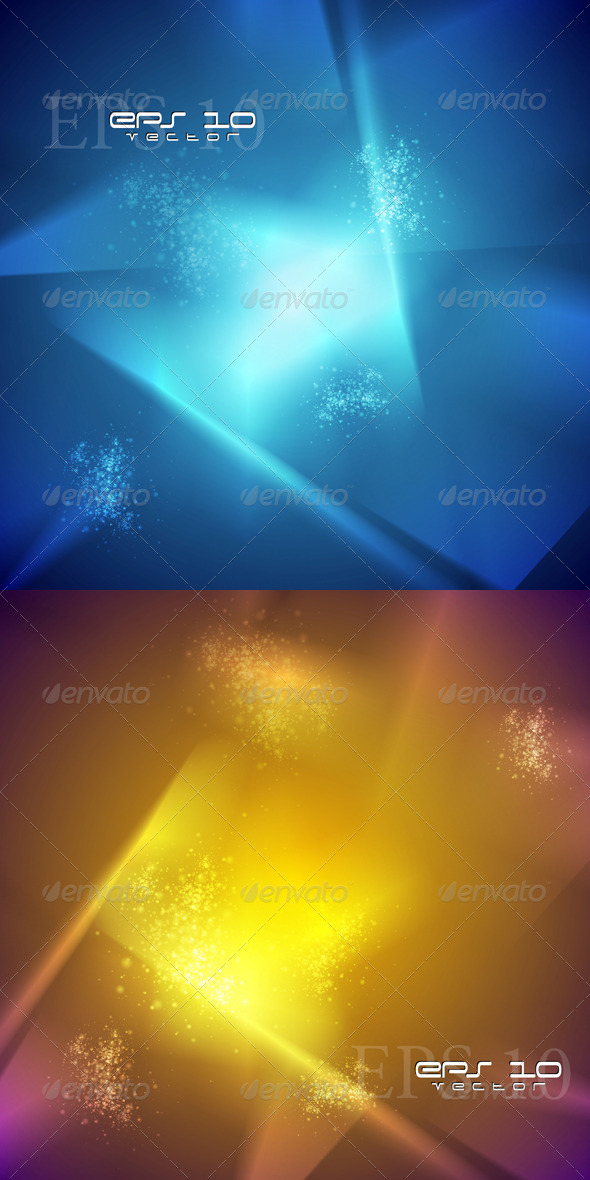 GraphicRiver Colourful Abstract Vector Backdrops 4833368