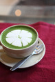 green tea latte - PhotoDune Item for Sale