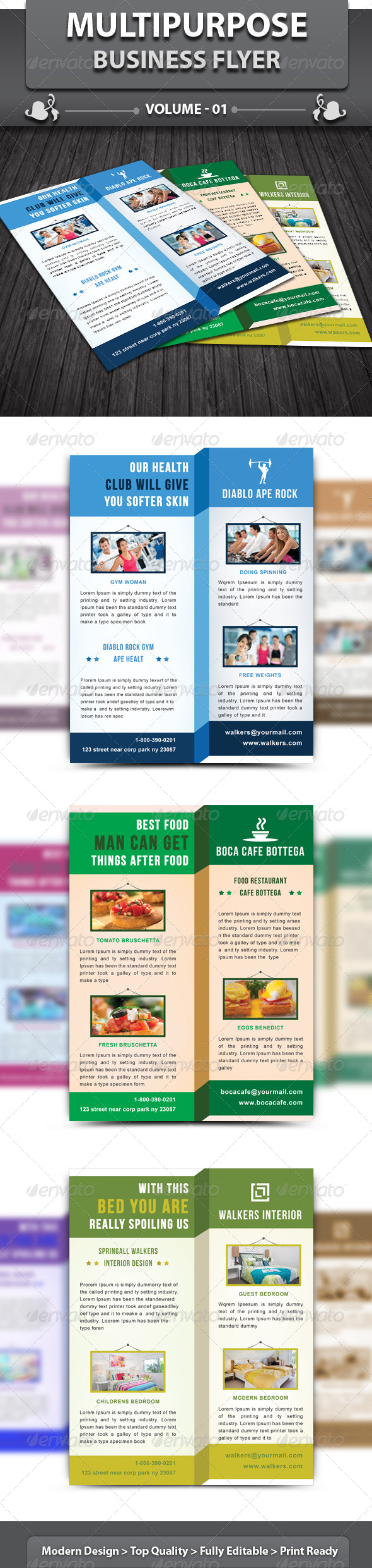 Multipurpose Business Flyer | Volume 1 - Corporate Flyers