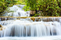 Tropical waterfall in kanchanaburi, Thailand - PhotoDune Item for Sale