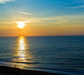 Sun Rising Over the Ocean - PhotoDune Item for Sale