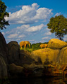 Elephants Above Lake Amoung Rocks - PhotoDune Item for Sale
