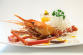 Baked crayfish on dish - PhotoDune Item for Sale