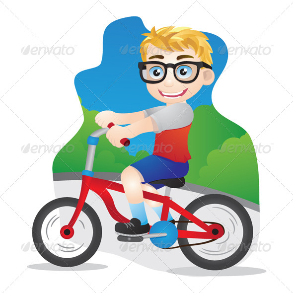 GraphicRiver Bicycle Boys 4837054