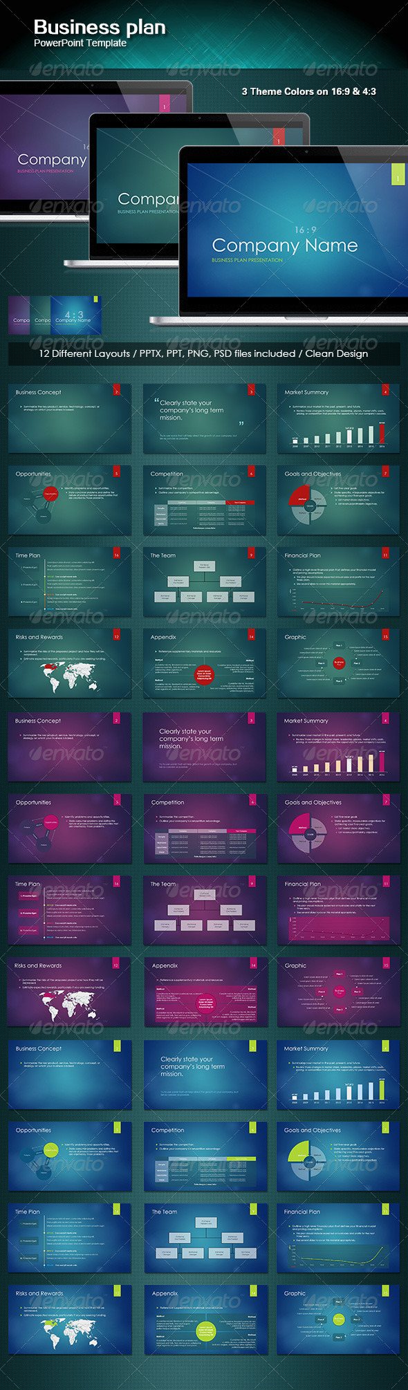 GraphicRiver SecoPro Powerpoint Template 4837251