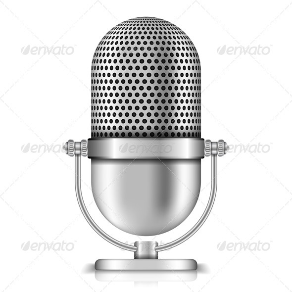 GraphicRiver Microphone 4837469