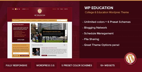 ThemeForest WP Education 4786561