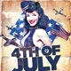 4th July Flyer - GraphicRiver Item for Sale