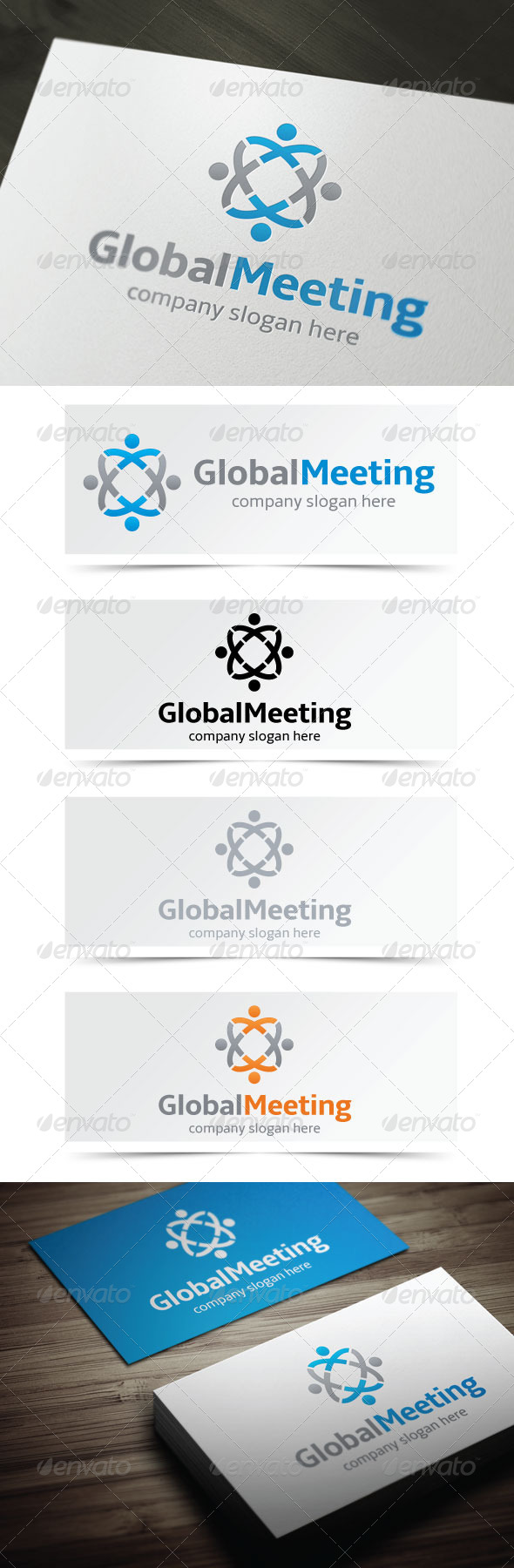 GraphicRiver Global Meeting 4843735