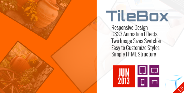 TileBox - Modern Responsive LightBox CSS - CodeCanyon Item for Sale