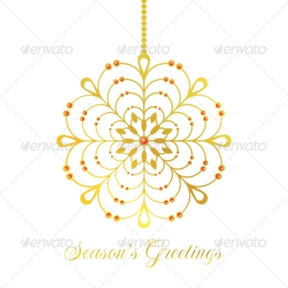 GraphicRiver Vector Christmas Bauble 4845526