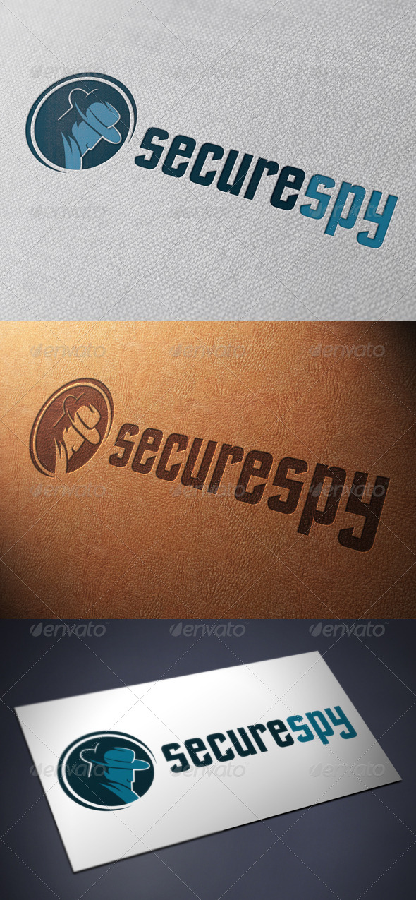 GraphicRiver Secure Spy Logo Template 4847848