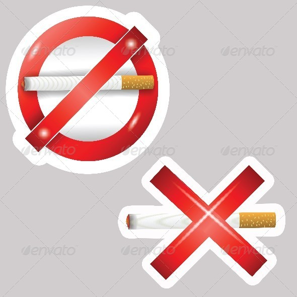 GraphicRiver Burning Cigarettes 4848082