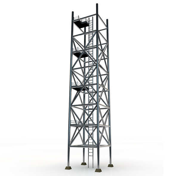 3DOcean Scaffolding Tower 4848645