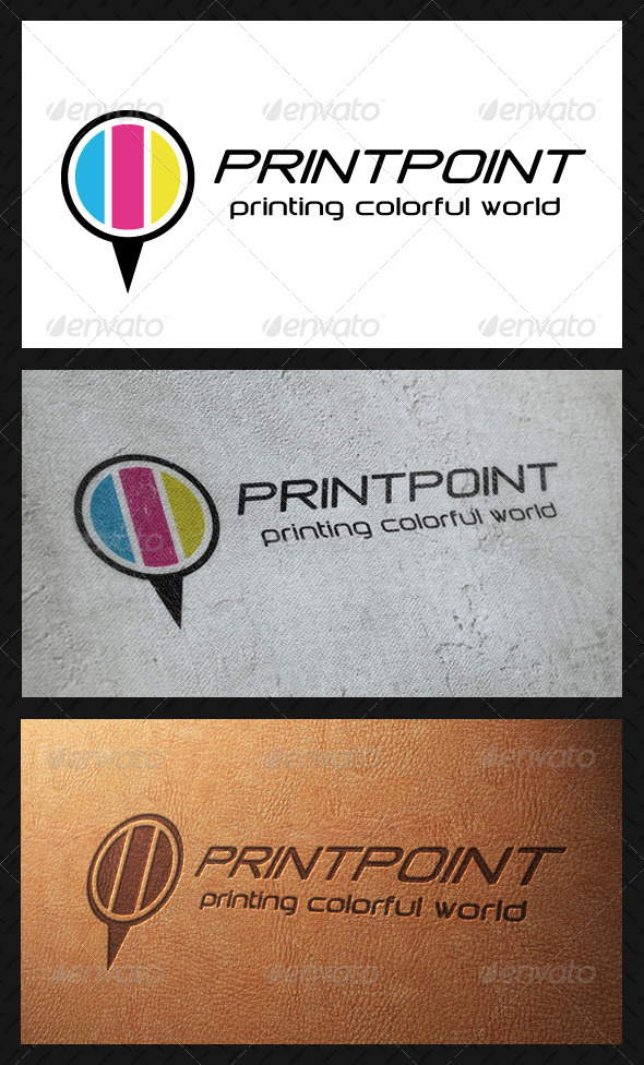 GraphicRiver Print Point Logo Template 4848807