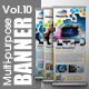 Multipurpose Banner Vol.10 - GraphicRiver Item for Sale