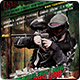 Grunge Paintball Flyer vol.2  6 x 4  - GraphicRiver Item for Sale