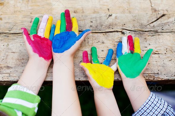 creative kids - Stock Photo - Images