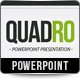 Quadro PowerPoint Presentation Template  - GraphicRiver Item for Sale