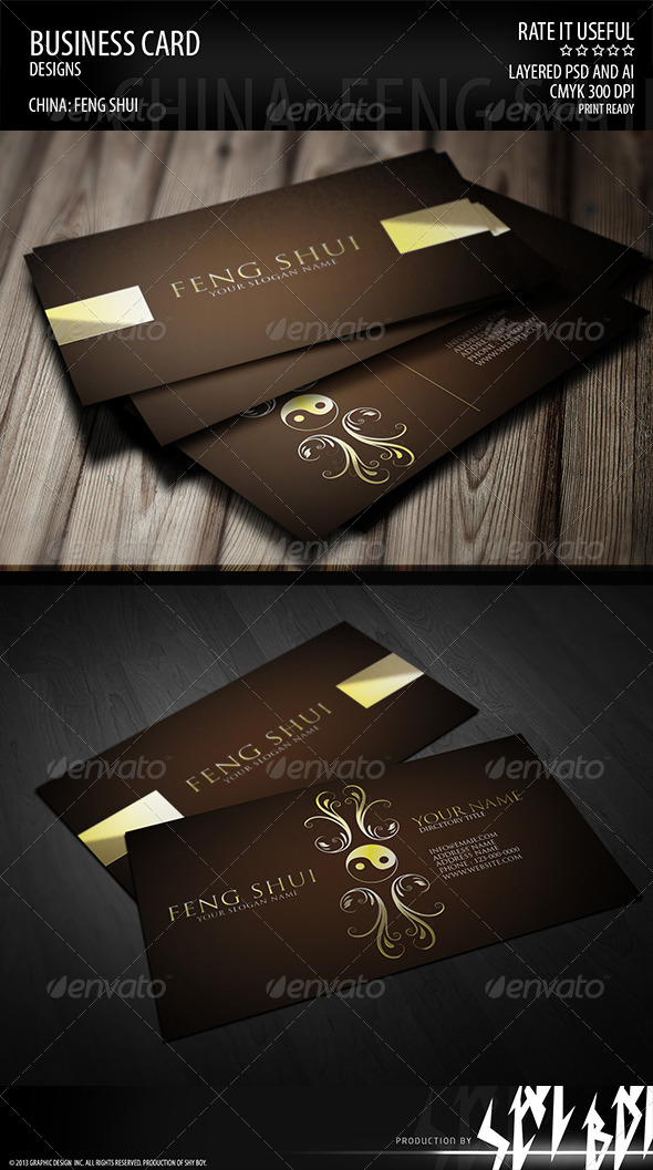 Tips for Feng Shui Business Card Design PrintPlacecom - oukas.info