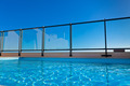 Outdoor swimming pool at the House roof - PhotoDune Item for Sale