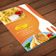 A4 Flyer Food Menu Vol 2 - GraphicRiver Item for Sale