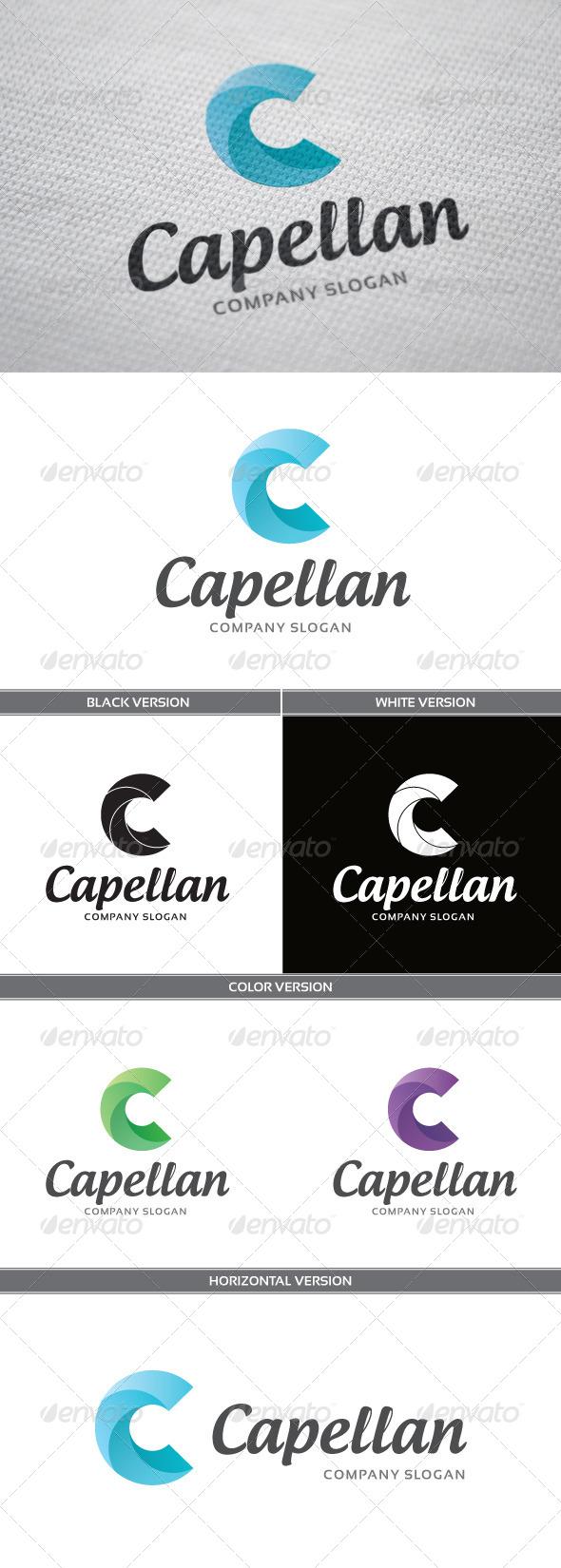 GraphicRiver Capellan Logo 4858280