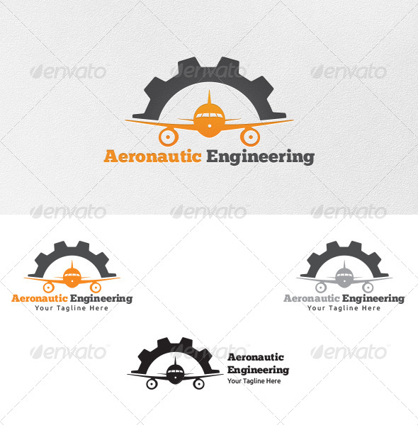 GraphicRiver Aeronautic Engineering Logo Template 4858478
