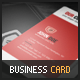Violet Corporate Business Card - GraphicRiver Item for Sale