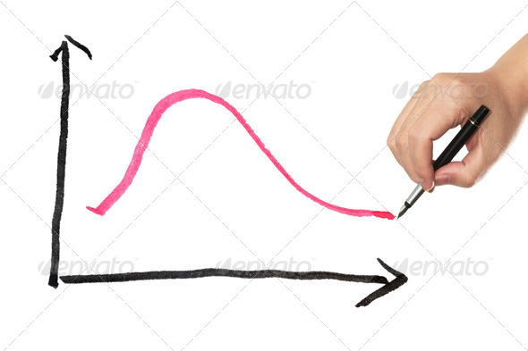 Business curve - Stock Photo - Images