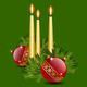 Candles and Balls - GraphicRiver Item for Sale