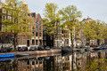 Amsterdam Houses by the Singel Canal - PhotoDune Item for Sale