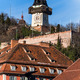 austria, styria, graz clock tower - PhotoDune Item for Sale