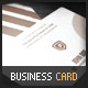 Brown Business Card - GraphicRiver Item for Sale