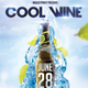 Cool Wine Party Flyer Template - GraphicRiver Item for Sale