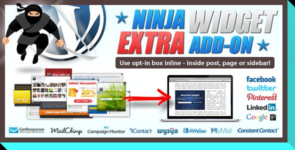 CodeCanyon Ninja Widget Extra Add-on 4863488