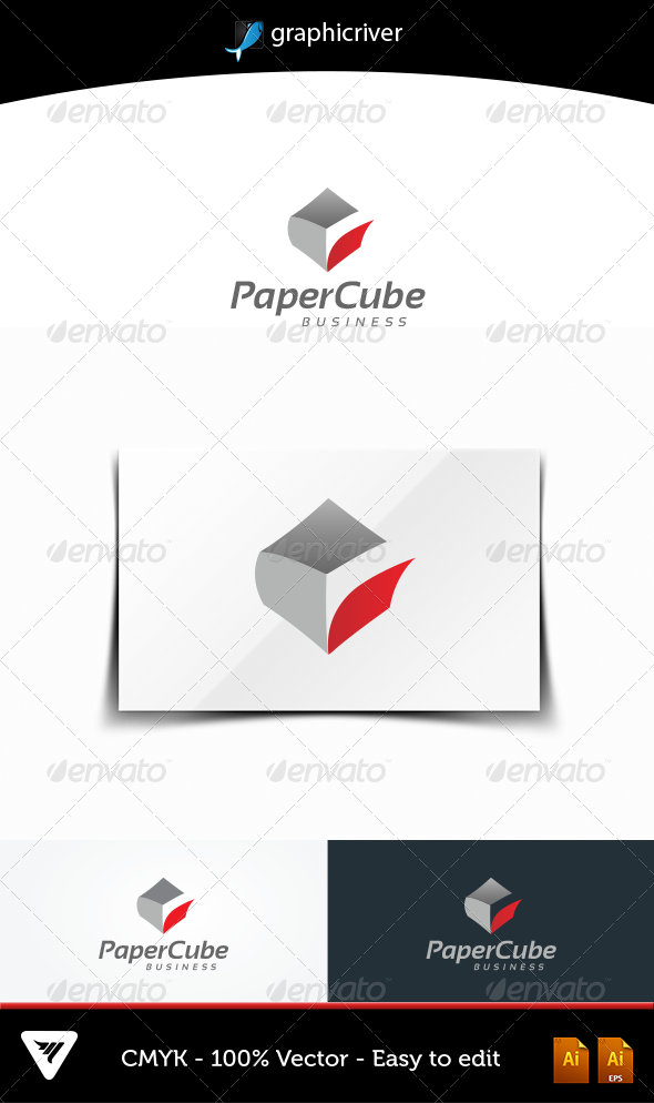 GraphicRiver PaperCube 4863824