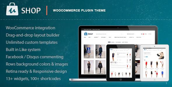 ThemeForest uShop Responsive Retina WooCommerce Theme 4863974