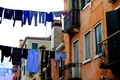 Washing drying on the streets of Venice, Italy - PhotoDune Item for Sale