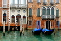 Gondolas on the water in Venice, Italy - PhotoDune Item for Sale
