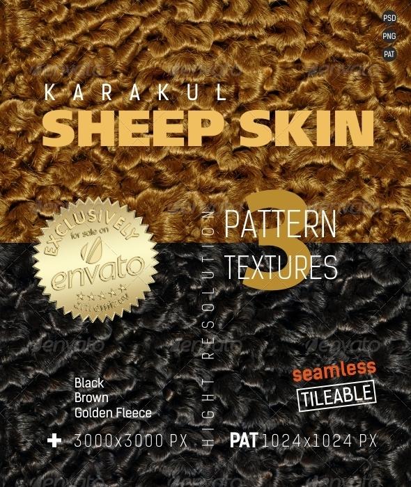 3DOcean Sheep Skin Karakul Texture 4866809